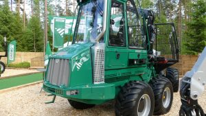gremo 750f forwarder front view