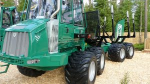 New downsized Gremo forwarder 750F