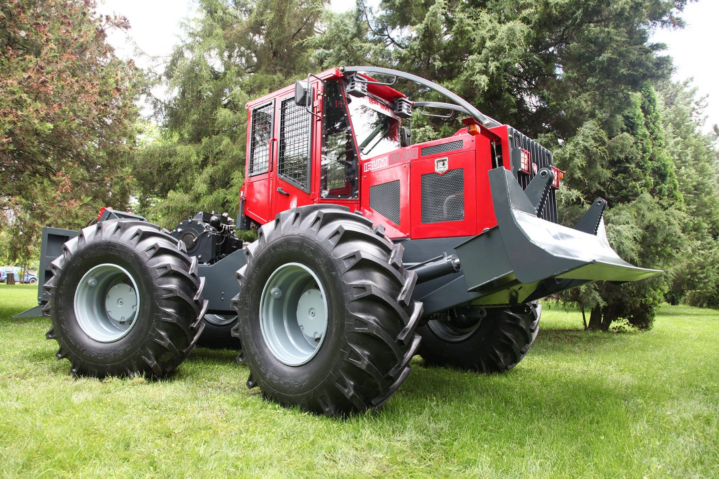Skidder manufacturer IRUM expand their market