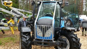 Landini 4-090 with protection bars