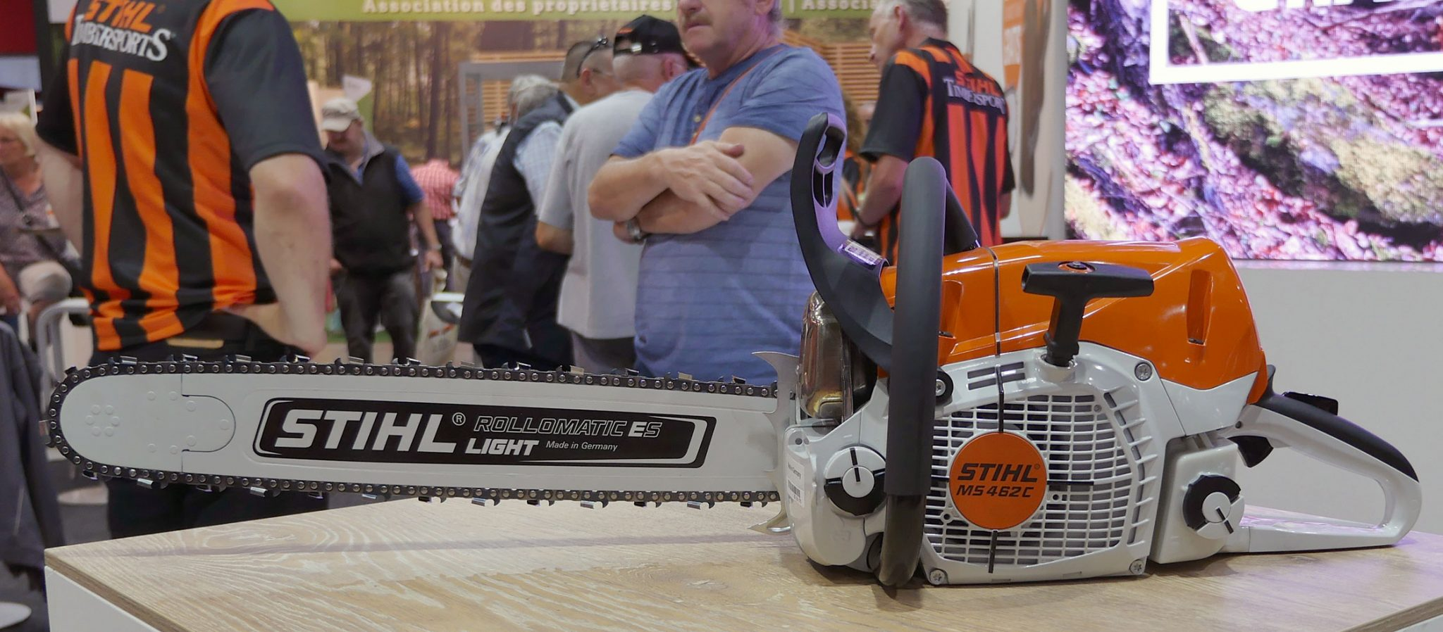 stihl ms 462 - new 72cc chainsaw from stihl | forestry