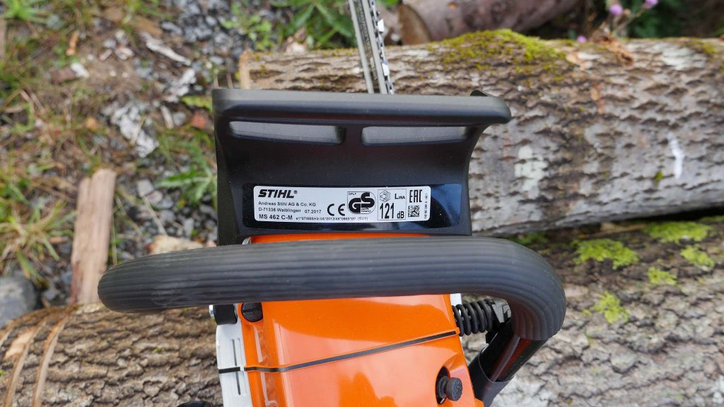 Stihl MS 462, top view