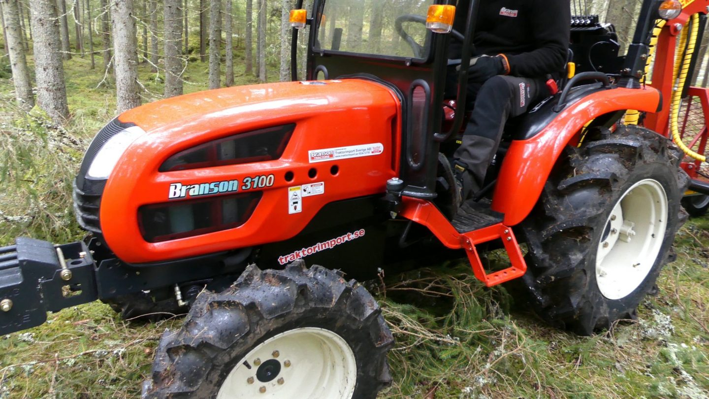 Branson compact tractor – a forestry alternative?