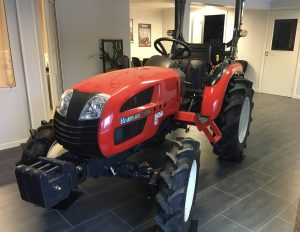 branson compact tractor at office