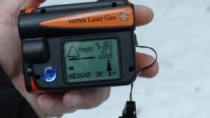 haglöf vertex laser geo measuring device