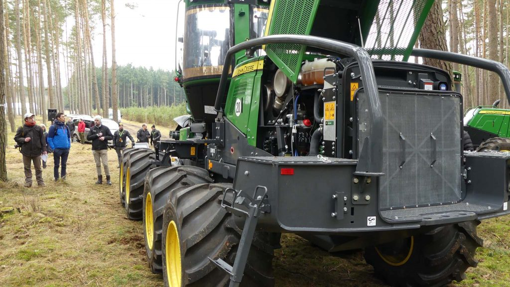 John Deere 1170G 8WD goes Gray with IBC and ADC | Forestry com