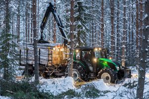 valtra in nordic forests