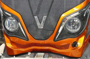 valtra customized in orange