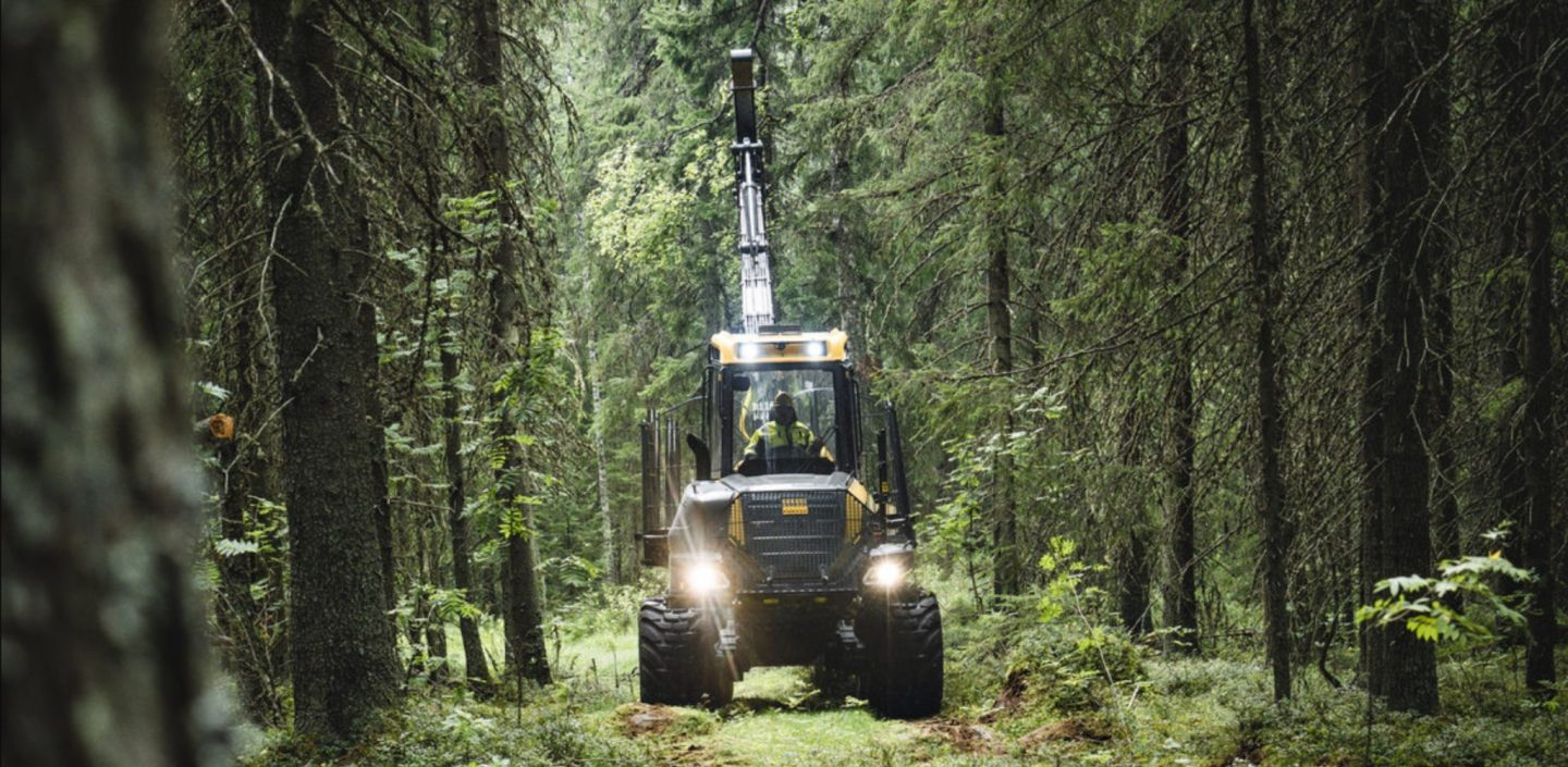 Bison Active Frame, new forwarder from Ponsse