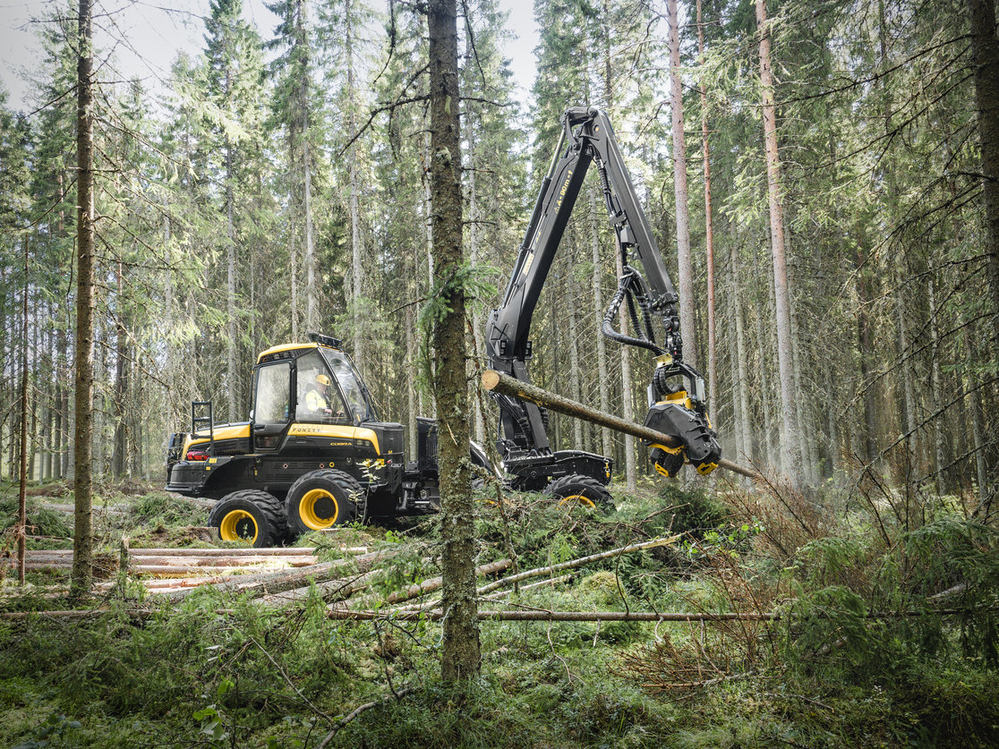 Ponsse relaunches the Cobra harvester