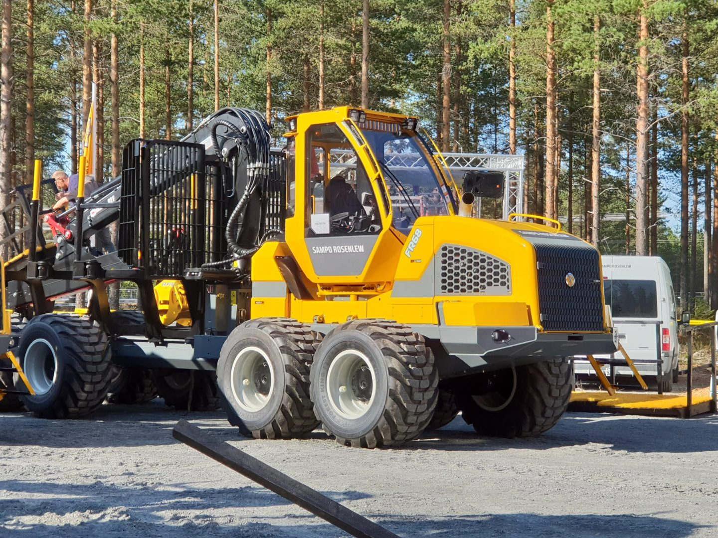Sampo is serious in the forest launching 3 brand new machines