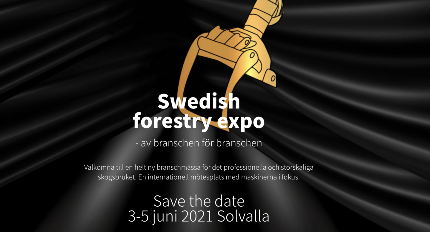 New Swedish Forestry Expo challenge the Elmia Wood 2021
