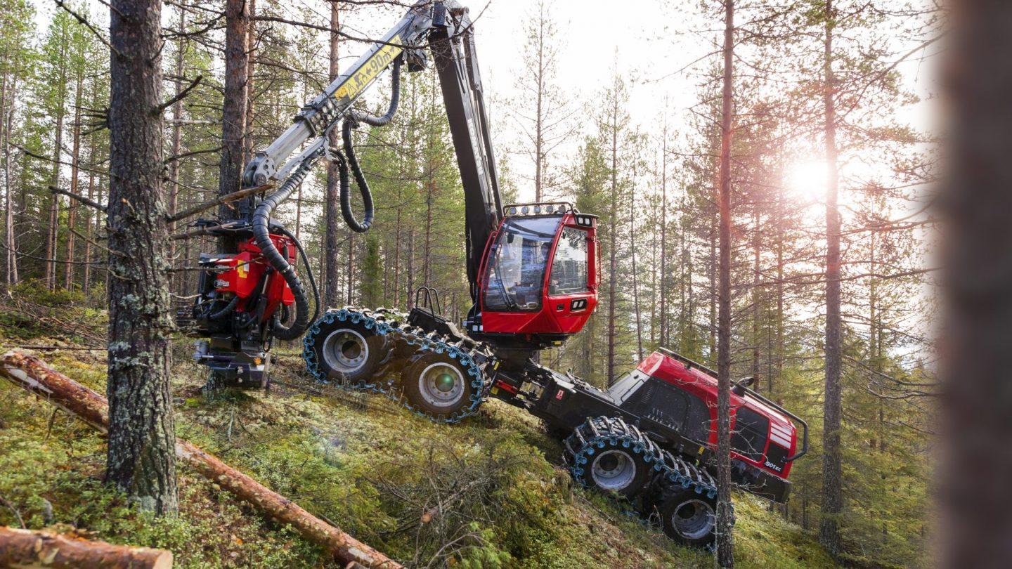 Forest machine sales in Finland 2018