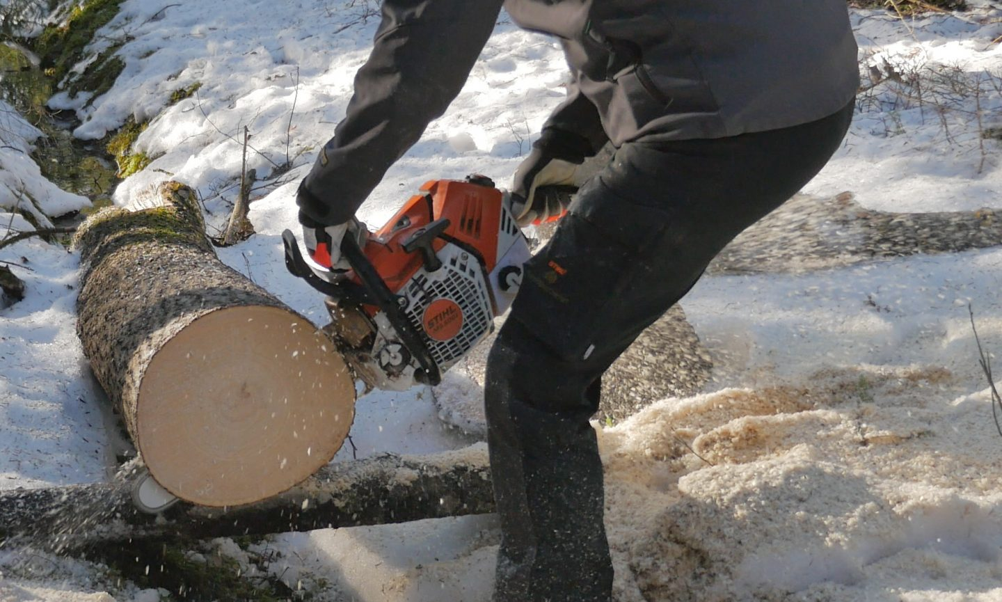 Picco ⅜ chain on a Stihl MS 500i - cutting capacity?