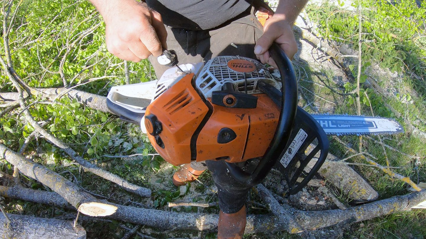 The Result After Long-Term Testing Stihl MS 500i