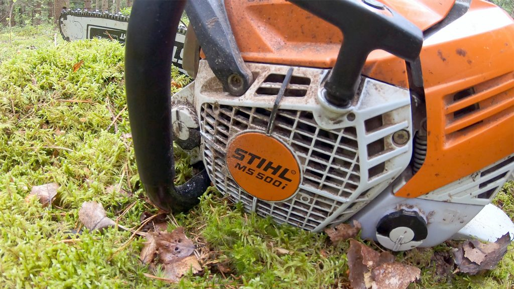Stihl MS 500i after three months of testing.