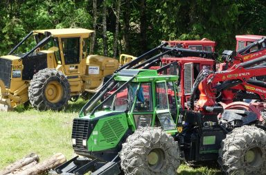 skidder competition lescognees start
