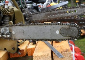 Oldtimer chainsaw classic