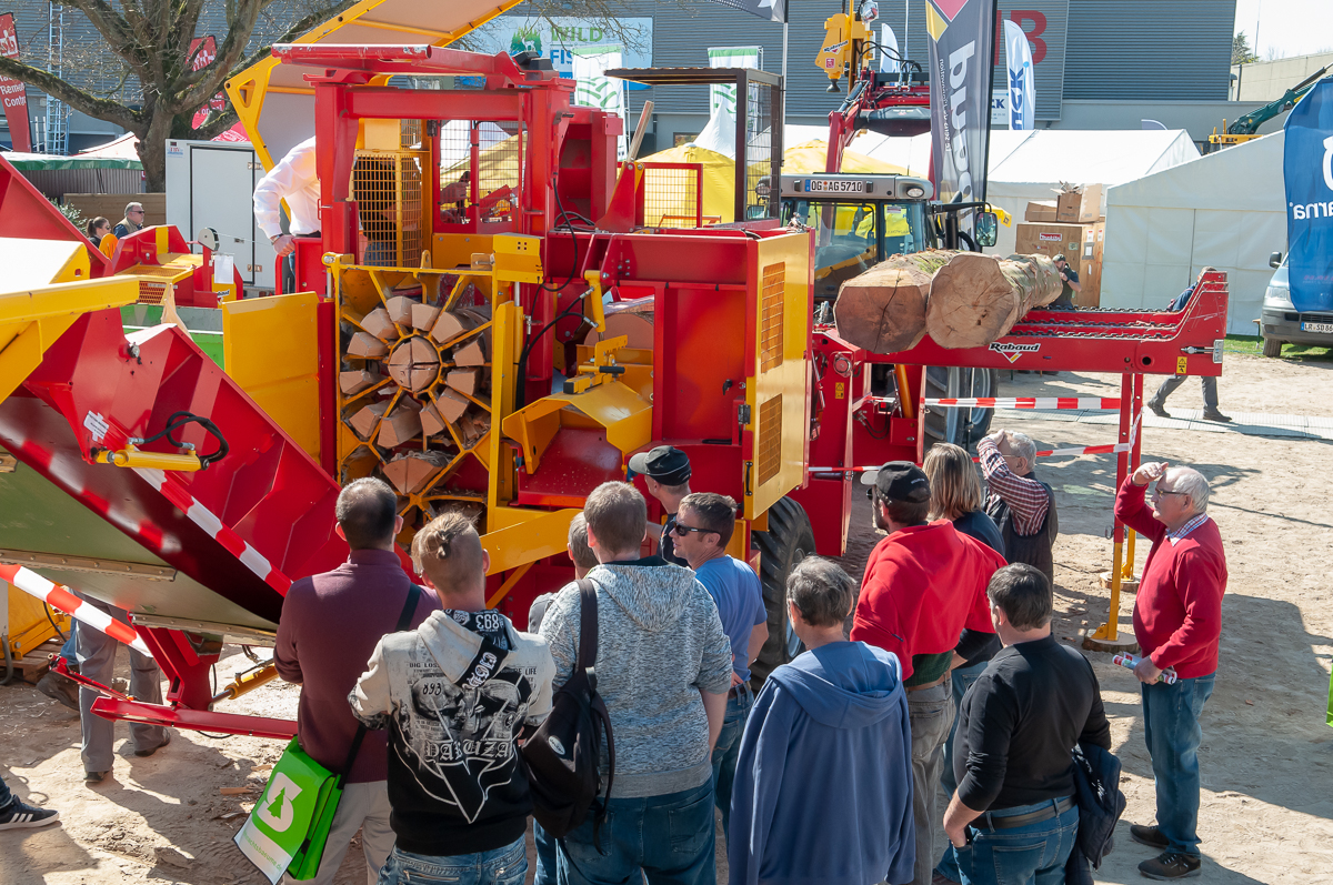 The Forst Live forestry show in Germany is postponed