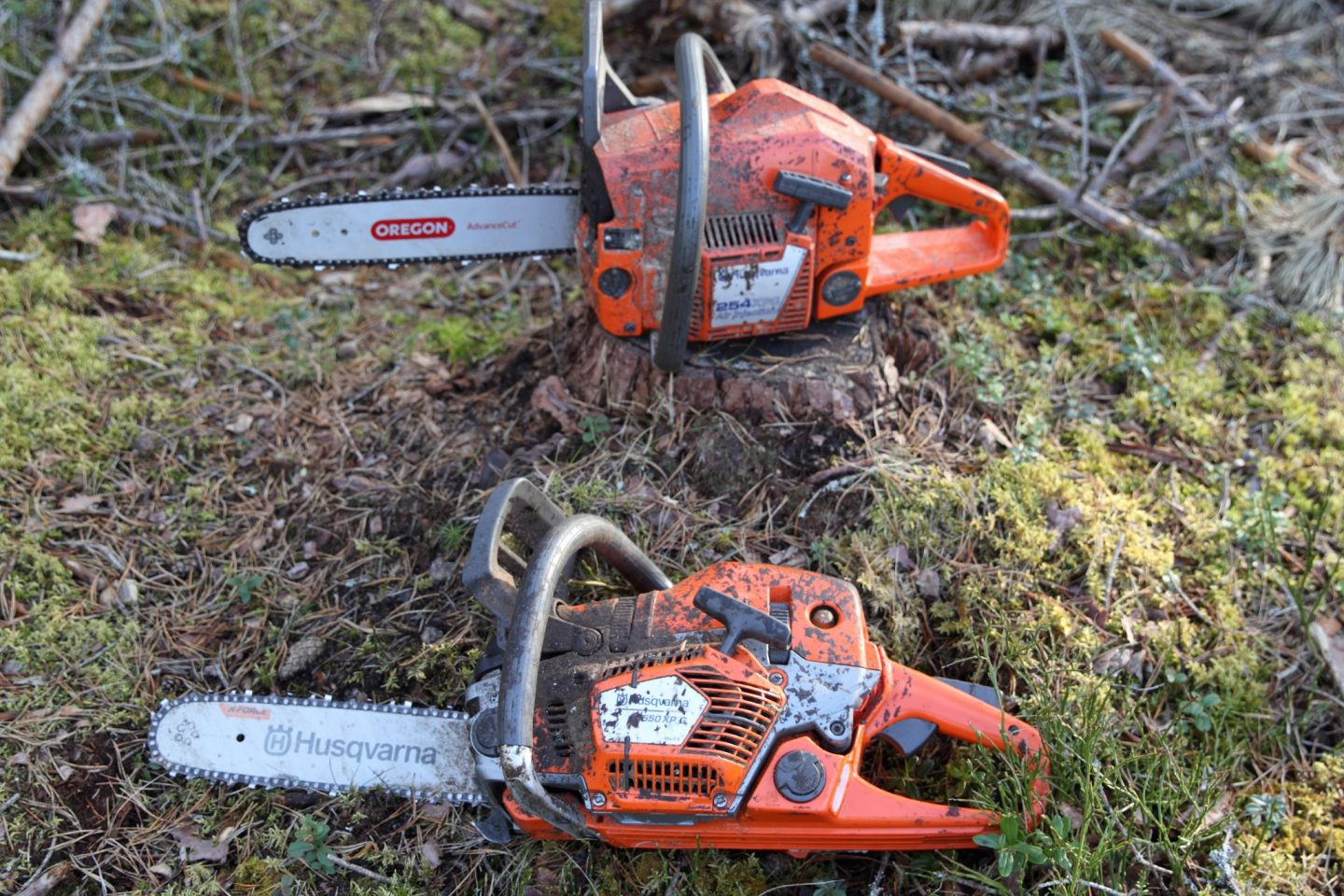 I miss my chainsaws!!
