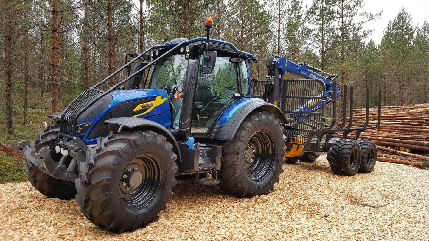 Adapting your tractor for logging