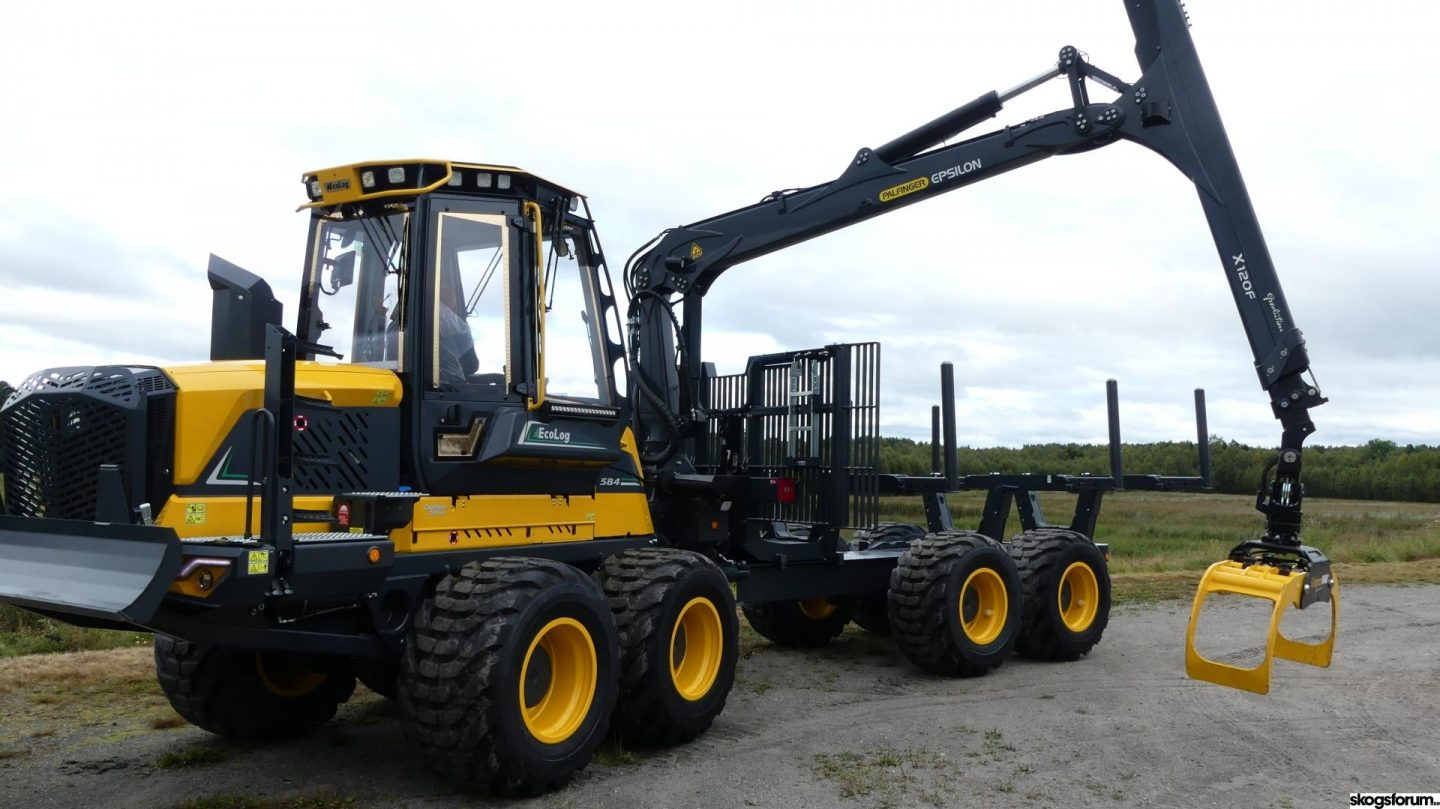 EcoLog 584F – A new 16-ton forwarder