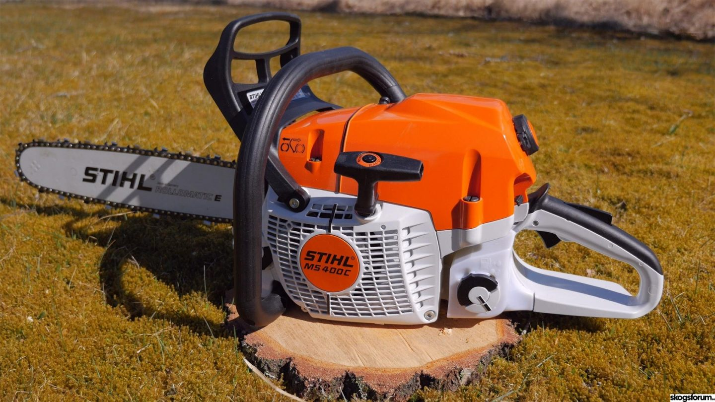 How to calibrate a Stihl chainsaw with M-Tronic 3.0