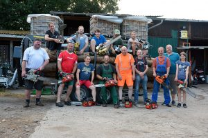 Chainsaw collectors evening