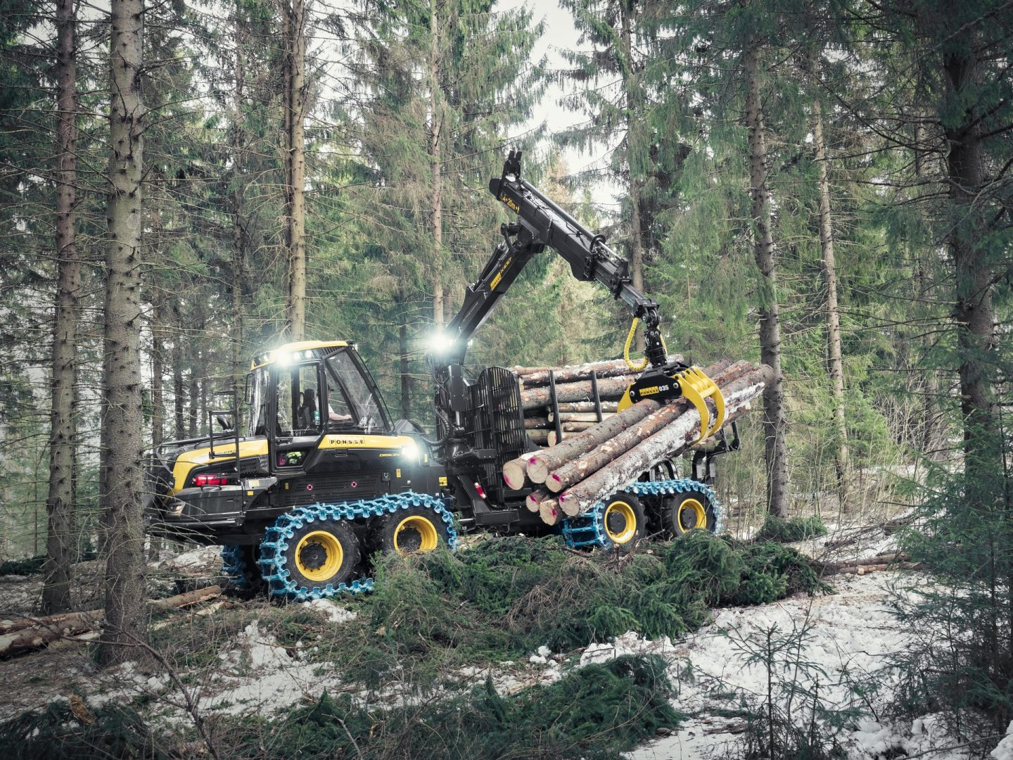 Record sales of forwarders in Sweden 2020*