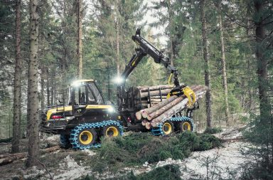 Forwarders in Sweden 2020