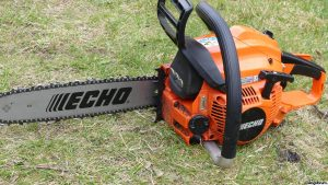 Test of Echo chainsaws