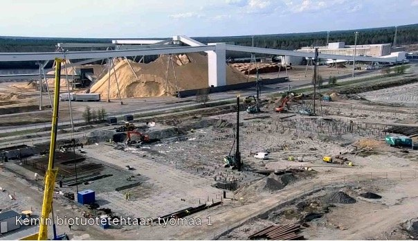 A new pulp mill is coming up – slow tv the Finnish way