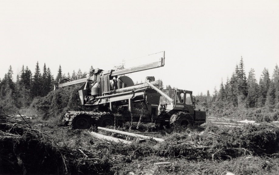 Size matters – a presentation of an extraordinary logging company