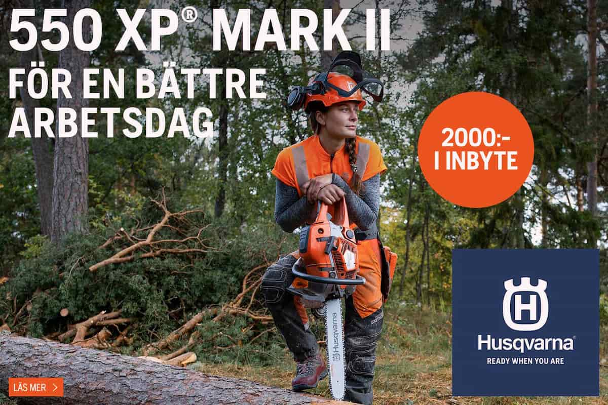Husqvarna 550 XP Mark II